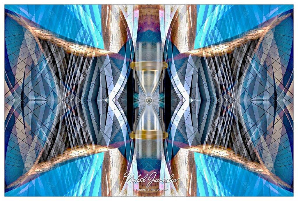 Time Lapse Spiral Geometric