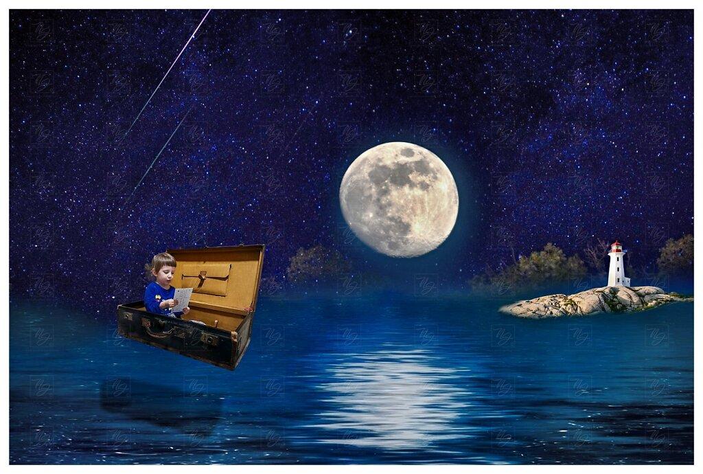 Ondřej a měsíc - v zemi snů - původní